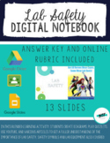 DISTANCE LEARNING Lab Safety Interactive Digital Notebook