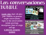 DISTANCE LEARNING - Las conversaciones BUNDLE