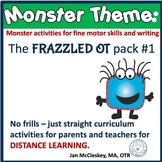 Occupational Therapy MONSTER Themed Curriculum for Parents