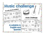 DISTANCE LEARNING Music challenge