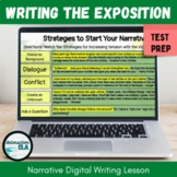 DISTANCE LEARNING Narrative Digital Writing Lesson: Exposi