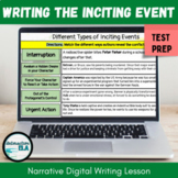 DISTANCE LEARNING Narrative Digital Writing Lesson: Inciti