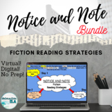 DISTANCE LEARNING (Notice and Note) Fiction Reading Strate