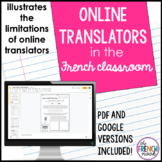 DISTANCE LEARNING - Online translators in the French classroom