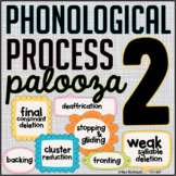 Phonological Process Palooza 2 {speech therapy activities}