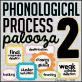 Phonological Process Palooza 2 {speech therapy activities}