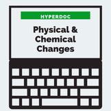 DISTANCE LEARNING Physical and Chemical Changes HyperDoc