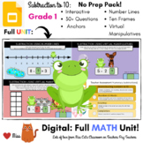 DISTANCE LEARNING: SUBTRACTION TO 10 - Grade 1 MATH - DIGI