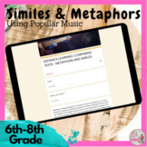 Similes and Metaphors Using Popular Music  DISTANCE LEARNING