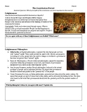 DISTANCE LEARNING The U.S. Constitution & Enlightenment Gu