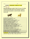 UNGULATES: A T/F QUIZ- W/ ANSWER KEY, MG. 9-12, COLLEGE:DISTANCE LEARNING