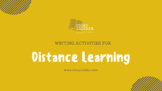 DISTANCE LEARNING: Writing Activities for Middle Grades