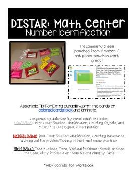 DISTAR: Math Independent Center-Set 2 (10 Games)