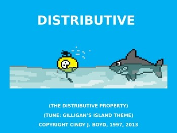 DISTRIBUTIVE PROPERTY SONG