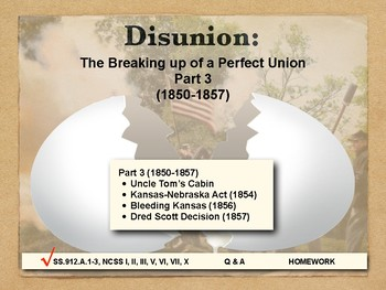 DISUNION - Causes of the Civil War, Part 3