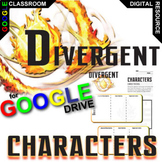 DIVERGENT Characters Organizer (Created for Digital)