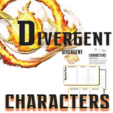 DIVERGENT Characters Analyzer (by Veronica Roth)