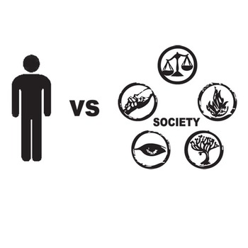 Divergent Conflict Graphic Organizer 6 Types Of Conflict Tpt