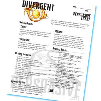 divergent essay topics