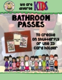 DIVERSE Kids Bathroom Passes