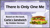 Carla's Sandwich DIVERSITY EXCLUSION Bullying No Prep SEL Lesson 3 vid PBIS MTSS