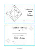DIVISION FACTS | Geometric Designs to Color | REVIEW Gr 3 Math Core