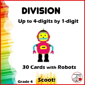 DIVIDE to 4-digits by 1-digit | Math Core | DIVISION SCOOT
