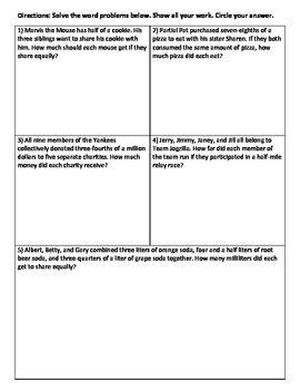 FRACTIONS-DIVIDING AND MULTIPLYING : DEVELOPING A CONCEPTUAL UNDERSTANDING