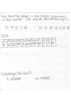 DIVIDING BY 2-DIGIT NUMBERS! Creative Trivia Long Division!