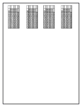 DIVIDING BY ONE-DIGIT NUMBERS - GRIDDED RESPONSE BOXES