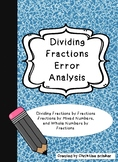 DIVIDING FRACTIONS ERROR ANALYSIS- CHALLANGING and ENGAGIN