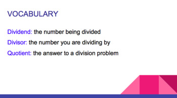 DIVIDING WHOLE NUMBERS & DECIMALS