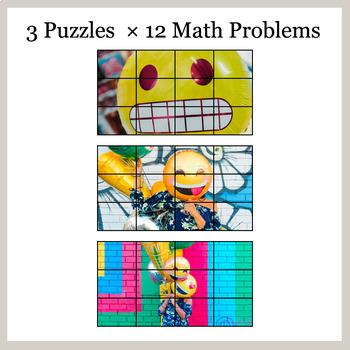 DIVISION 3-Digit by 1-Digit - Google Slides - Emoji Puzzles