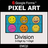 DIVISION 3-Digit by 1-Digit - Pixel Art Math | Google Forms