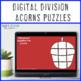 DIVISION Acorn Math Puzzles   Fall Centers   Make a FUN Bulletin Board