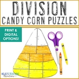 DIVISION Candy Corn Puzzles | Fall Activities | FUN Fall M