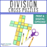 DIVISION Cross Puzzles | Great for a Religious or Christian Bulletin Board!