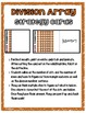 DIVISION DETECTIVES (Division Array Think-Multiplication Strategy Cards)
