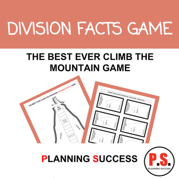 DIVISION FACTS: THE BEST EVER CLIMB THE MOUNTAIN DIVISION FACTS GAME