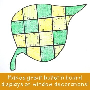 DIVISION Fall Activities | Leaf Shape Puzzles | FUN Tree Study Supplement