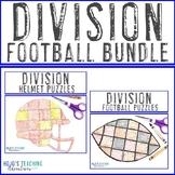 DIVISION Football Math Coloring Sheet Alternatives - Choos