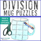 DIVISION Hot Chocolate Math | Polar Express Game | Cocoa Activity or Centers