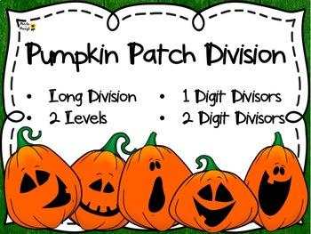 DIVISION: LONG DIVISION PUMPKIN PATCH