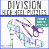 DIVISION Mothers Day Math Center | FUN Math Puzzle Game