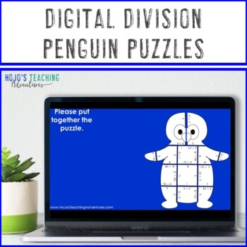 DIVISION Penguin Activities | FUN Winter Math Centers, Games, or Craftivity