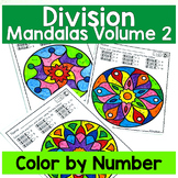 DIVISION REVIEW Color by Number Mandala Coloring Pages Vol 2