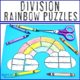 DIVISION Rainbow Activities | Rainbow Math Centers | FUN S