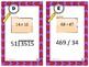 DIVISION Scavenger Hunt Task Cards: 2 Digit Divisors
