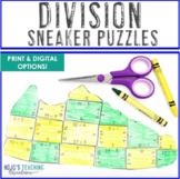 DIVISION Sneaker Math Puzzles | FUN Sports Theme Classroom