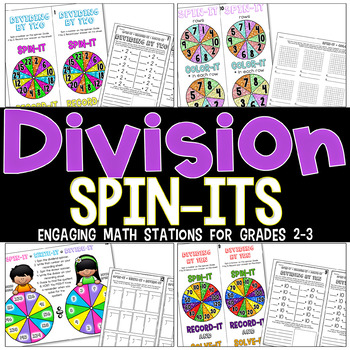DIVISION Spin-Its™ Math Stations